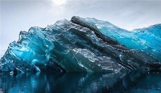 手机实拍世界最古老的冰山